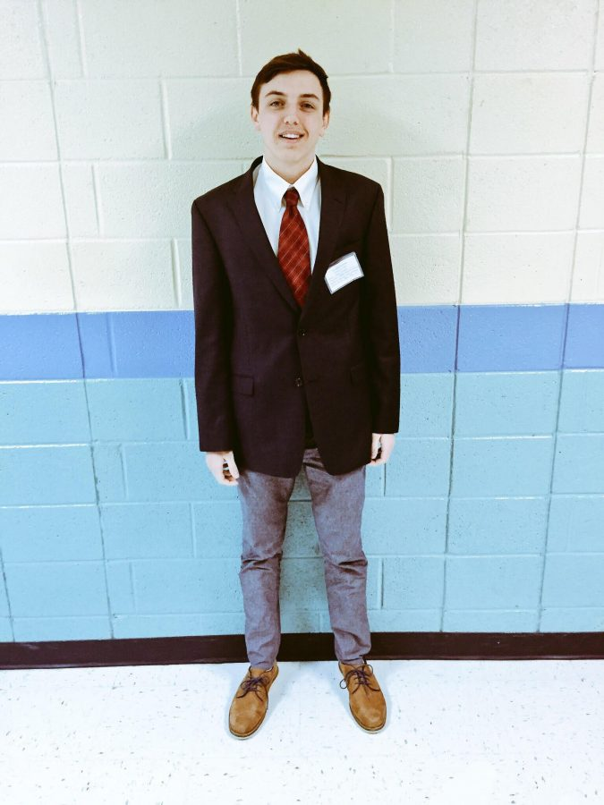 Junior Joey Moore has continually been successful and shined through the Model UN program. Moore has received several awards recently.