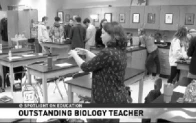 Big Win For Beloved Bio Teacher